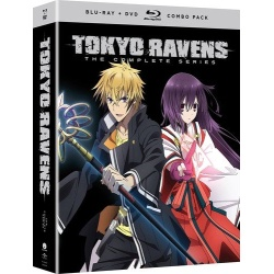 Tokyo Ravens: The Complete Series Blu-ray Cover