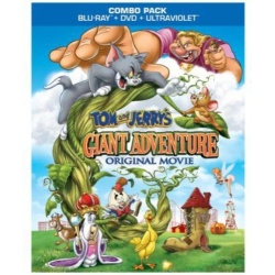 Tom And Jerry's Giant Adventure Blu-ray Cover