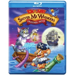 Tom and Jerry: Shiver Me Whiskers Blu-ray Cover