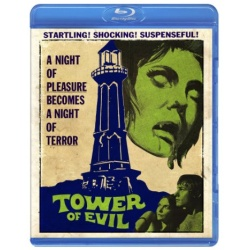 Tower of Evil Blu-ray Cover