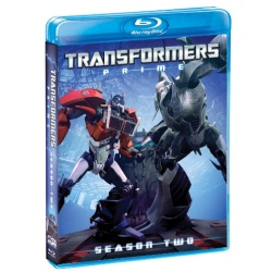 Transformers Prime: Season Two Blu-ray Cover