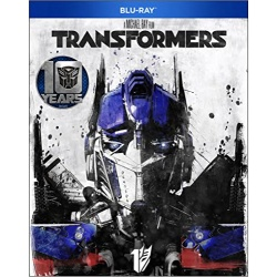 Transformers Blu-ray Cover