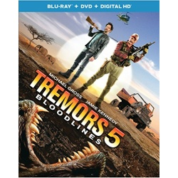 Tremors 5: Bloodlines Blu-ray Cover