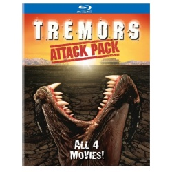 Tremors Attack Pack Blu-ray Cover