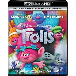 Trolls Blu-ray Cover