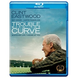 Trouble with the Curve Blu-ray Cover