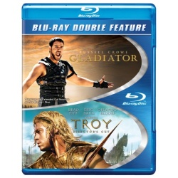 Troy / Gladiator Blu-ray Cover