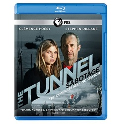 Tunnel: Sabotage - The Complete 2nd Season Blu-ray Cover