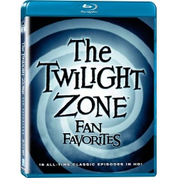 Twilight Zone: Fan Favorites Blu-ray Cover