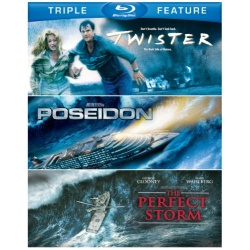 Twister / Poseidon / The Perfect Storm Blu-ray Cover