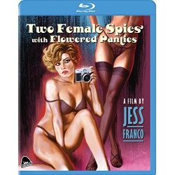 Two Female Spies with Flowered Panties Blu-ray Cover