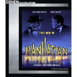 Two Men in Manhattan Blu-ray Cover