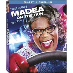 Tyler Perry's: Madea on the Run Blu-ray Cover