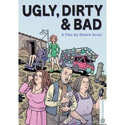 Ugly, Dirty & Bad Blu-ray Cover
