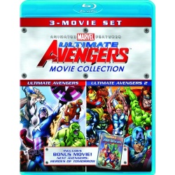 Ultimate Avengers Movie Collection Blu-ray Cover