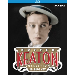 Ultimate Buster Keaton Collection Blu-ray Cover