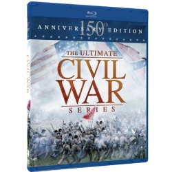 Ultimate Civil War Series: 150th Anniversary Edition Blu-ray Cover
