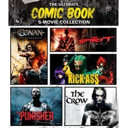 Ultimate Comic Book: 5 Film Collection Blu-ray Cover