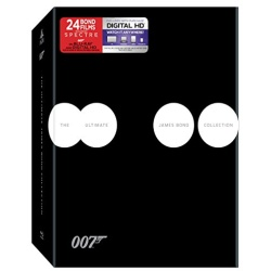 Ultimate James Bond Collection Blu-ray Cover
