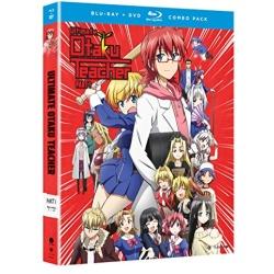 Ultimate Otaku Teacher: Season 1 - Part One Blu-ray Cover