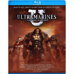 Ultramarines: A Warhammer 40,000 Movie Blu-ray Cover