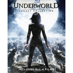 Underworld: The Legacy Collection Blu-ray Cover