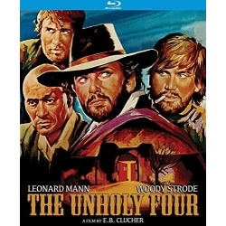 Unholy Four Blu-ray Cover