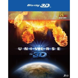 Universe in 3D Blu-ray Cover
