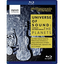 Universe of Sound: The Planets Blu-ray Cover