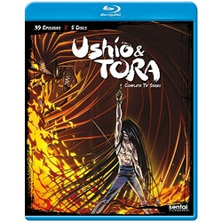 Ushio & Tora Blu-ray Cover