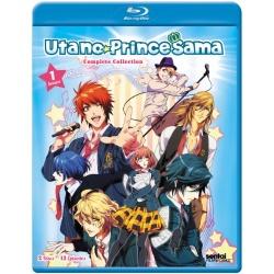 Uta No Prince Sama 1000%: The Complete Season 1 Blu-ray Cover
