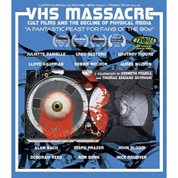 VHS Massacre Blu-ray Cover