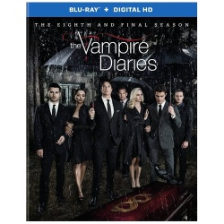 Vampire Diaries: The Eighth and Final Season Blu-ray Cover