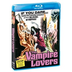 Vampire Lovers Blu-ray Cover