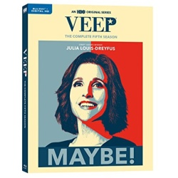 Veep: The Complete 5th Season Blu-ray Cover