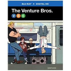 Venture Bros.: The 6th Season Blu-ray Cover