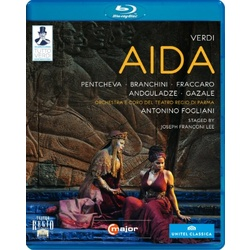 Verdi: Aida Blu-ray Cover
