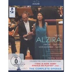Verdi: Alzira Blu-ray Cover