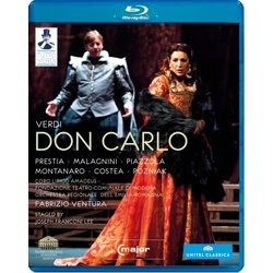 Verdi: Don Carlo Blu-ray Cover