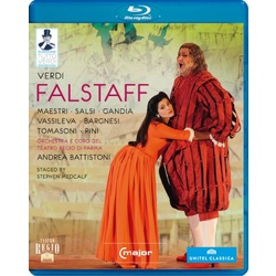Verdi: Falstaff Blu-ray Cover