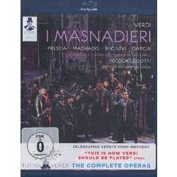 Verdi: I Masnadieri Blu-ray Cover