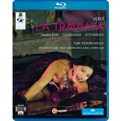 Verdi: La Traviata Blu-ray Cover