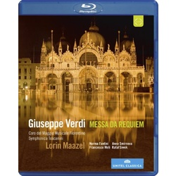 Verdi: Messa da Requiem Blu-ray Cover