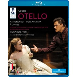 Verdi: Otello Blu-ray Cover