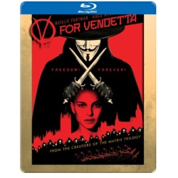 V for Vendetta (Steelbook) Blu-ray Cover