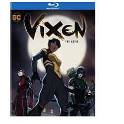Vixen: The Movie Blu-ray Cover