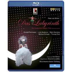 Von Winter: Das Labyrinth Blu-ray Cover