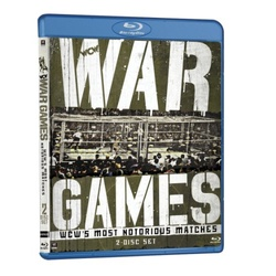 WCW War Games: WCW's Most Notorious Matches Blu-ray Cover