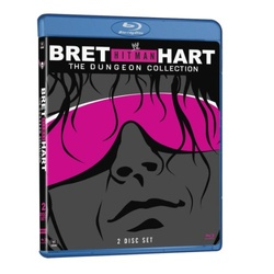 WWE: Bret Hitman Heart - The Dungeon Collection Blu-ray Cover