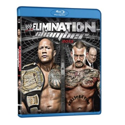 WWE: Elimination Chamber 2013 Blu-ray Cover